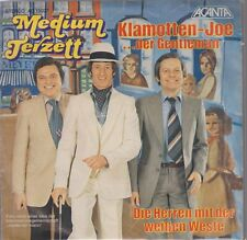 """7"""" Medium Terzett Klamotten-Joe / Die Herren mit der weißen Weste"""