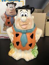 Vintage Hanna Barbera The Flintstones Fred Flintstone Ceramic Cookie Jar