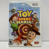 Disney Pixar Toy Story Mania Nintendo Wii Complete In Box with 2 3-D Glasses