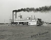 Photograph of the Vintage Paddle Wheel Steamship Jas T. Staples Year 1906  8x10