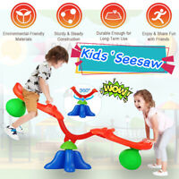 🇦🇺 Kids Seesaw Children Indoor Outdoor Bubble See Saw Toy Spin 360 Degrees