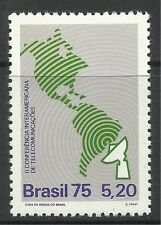 BRAZIL. 1975. Telecommunications Conference. SG: 1565. Mint Never Hinged