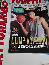 Tv Sorrisi e Canzoni N. 38 Carlton Myers  anno 2000  - Mondadori Ottimo