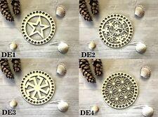 5 sets ( 15CM Designed tops +17cm plain  bottom)  for crochet baskets