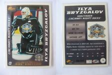 2003-04 Pacific AHL #16 Bryzgalov Ilya 506/925 gold  cincinnati ducks