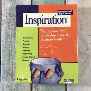 Inspiration Version 6, PC CD Rom Design Software - Professionals & Students