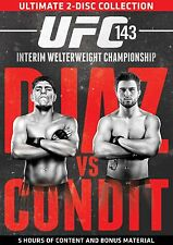 UFC #143 - Diaz Vs Condit   (DVD, 2014, 2-Disc Set)