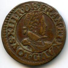 Louis XIII (1610-1643) Double tournois 1620 G Poitiers