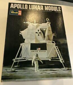1969 REVELL APOLLO LUNAR MODULE 1:48, H-1842-150, Unassembled in the box