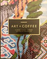 STARBUCKS 2018 Art + Coffee A Journey of Four Artists HARDCOVER BOOK free shpg