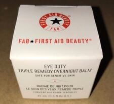 First Aid Beauty Eye Duty Triple Remedy Overnight Balm, 0.5 fl. oz