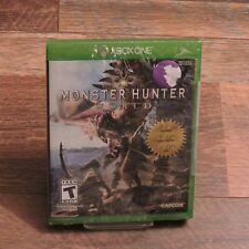 Monster Hunter World New Factory Sealed Microsoft XBOX ONE Capcom