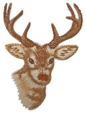 Patche écusson Cerf Chasse Nature thermocollant patch NagaPatches brodé