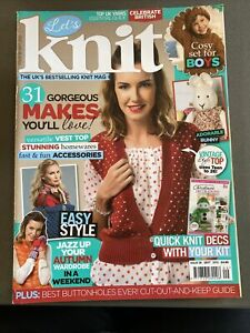 lets knit magazine Issue 58 Sept 2012