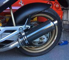 Ducati Monster M600 93-03 Demonio Slash De Fibra De Carbono Ronda Xls Escapes
