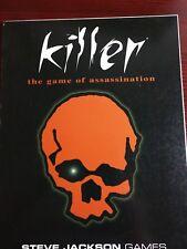 Killer The Game of Assassination / Steve Jackson Games 1998 / 4th Edition / Larp