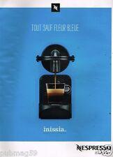 Publicité advertising 2015 La machine à café Nespresso What else?
