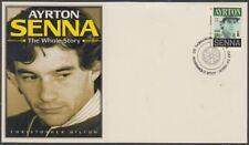 CANADA # 2995.5 - FORMULA 1 AYRTON SENNA POSTAGE STAMP on SUPERB ENVELOPE #5