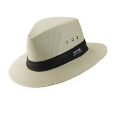 PANAMA JACK ORIGINAL * MENS WHITE FEDORA HAT XXL * NEW TOP TOYO STRAW SAFARI SUN