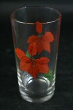 Block Spal Portugal Watercolors Water Glass Floral Designs Drinking Glasses