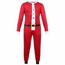 Niños Niña Pijama Santa Claus Navidades Pijama Navidad Pijama Edad 5-13 AÑOS