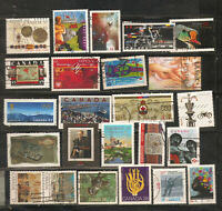 a stock page of recent used stamps from Canada(C-79)