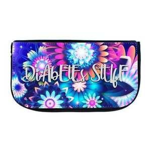 Dia Zubehör Tasche - Diabetes Stuff Flower - DiaStuff®