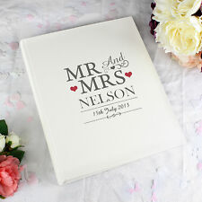 Wedding Gifts - Personalised Photo Albums - Bride Groom, Same Sex Options