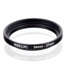 RISE (UK) 34-37 MM 34 MM- 37 MM 34 to 37 Step Up Ring Filter Adapter