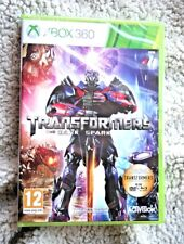 XBOX 360 Game: TRANSFORMERS, THE DARK SPARK. PAL, NUEVO & SELLADO, BRAND NEW!