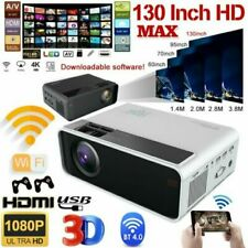 23000LM 4K 1080P LED Smart Home Theater Projector Android Wifi 3D Video Movie