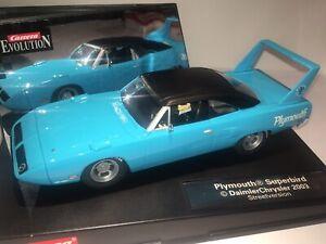 Carrera 1/32 scale Plymouth Superbird, Streetversion, New In Original Display.