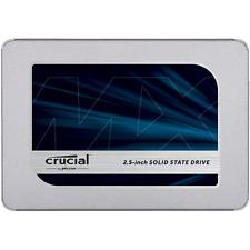 Crucial MX500 SSD 1TB 2.5zoll Micron 3D TLC SATA600 - 7mm