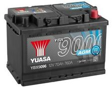 Peugeot 308 Sw Mk2 2014-2016 Yuasa Agm Start-Stop Battery Electrical Replace