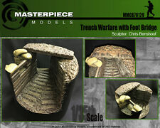 Trench Warfare base with Foot Bridge  1/35th or 54mm