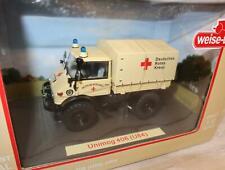 Weise-toys 2027 Unimog 406 DRK Hellbeige 1 32