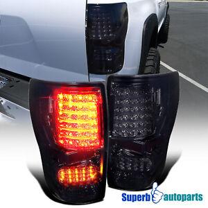 For 2007-2013 Toyota Tundra LED Tail Lights Brake Signal Lamp Smoke 07-13