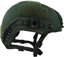 Army OD Olive Drab M/L SPEC OPS SPECIAL FORCES BALLISTIC HELMET LVL IIIA SWAT
