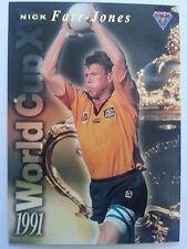 1995 Futera Rugby Union 1991 World Cup XV WC9 Nick Farr Jones