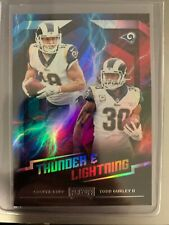 2018 Playoff Thunder and Lightning  #8  COOPER KUPP / TODD GURLEY  RAMS