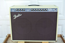 FENDER LIMITED EDITION '65 BLONDE TWIN REVERB AMPLIFIER 85W BLACK FACE! LOT #V88