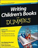 Writing Children's Books for Dummies, Paperback by Buccieri, Lisa Rojany; Eco...