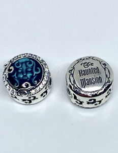 AUTHENTIC PANDORA DISNEY PARKS HAUNTED MANSION MADAM LEOTA CHARM #798121CZ + BOX
