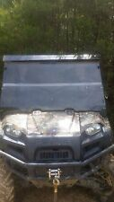 "2009-2014  Polaris Ranger 800 Clear Folding Windshield. A Full 1/4"" THICK!!!"