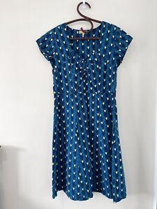 Karma East A Line Cotton Midi Dress Size XL
