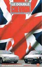 Le Double Chevron   N°96  1988 : Citroen en grande bretagne Compétivité Jean luc