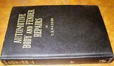 1939 40 46 47 48 49 Vintage Auto Body Repair Book Dodge Ford Hudson Nash Pontiac