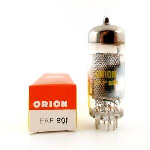 1 X EAF801 TUBE. ORION BRAND. NOS / NIB. M20 - RCB45 #ES