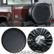 "Set of RV Wheel Tire Covers Auto Truck Car Camper Trailer 27""-30"" Diameter"