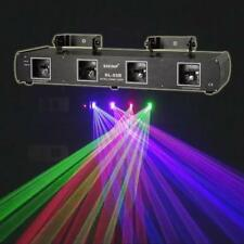 Shinp Green Red Blue Purple 760MW Four Lens DMX512 Laser Stage Lighting Yc.DL55B